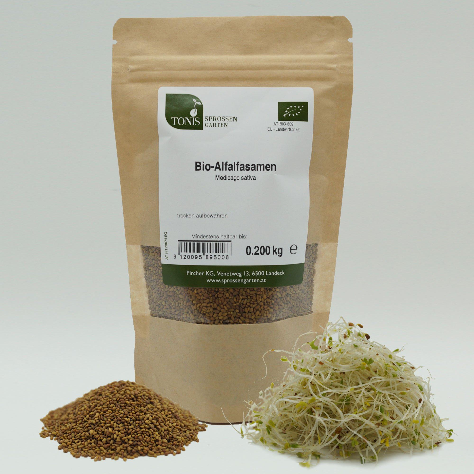 Bio–Alfalfa Natur